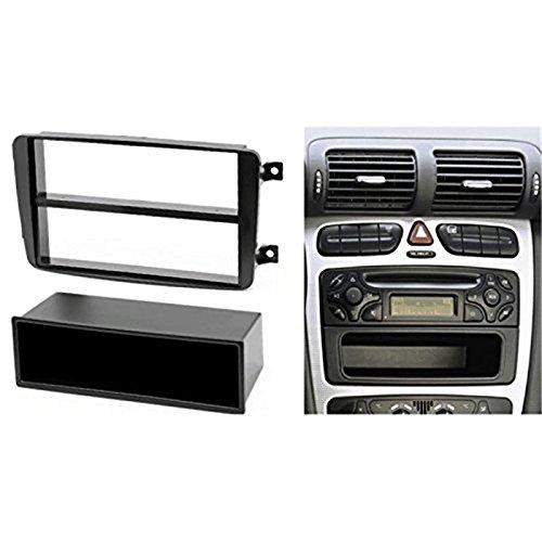 1 DIN Car stereo facia radio adapte for Mercedes Classe C//CLK//Viano//Vito