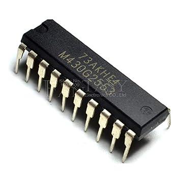 2pcs MSP430G2553IN DIP20 M430G2553 DIP-20 MSP430G2553 DIP