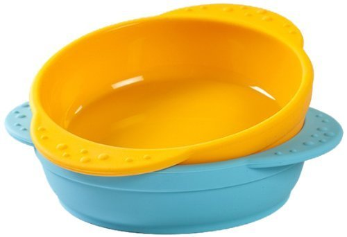 Kinderville® Silicone Bowls - 2 pack - 100% SILICONE Bowls for Kids, Children, Babies, Toddlers, BPA Free, BOWL SET (Dishwasher Safe)