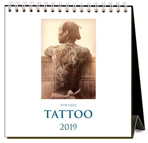 Tattoo 2019 Easel Desk Calendar by Found Image Press