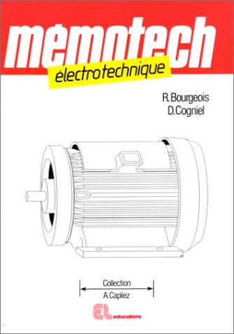PDF ELECTROTECHNIQUE TÉLÉCHARGER MEMOTECH
