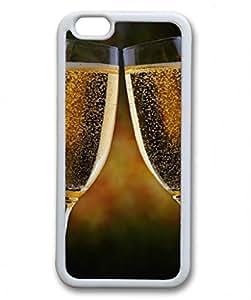 Iphone 6 TPU Supple Shell Case Wine Toss White Skin by Sallylotus by ruishername