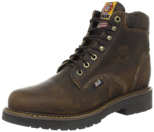Justin Boots Men S J Max Round Toe Work Boot Rugged Bay