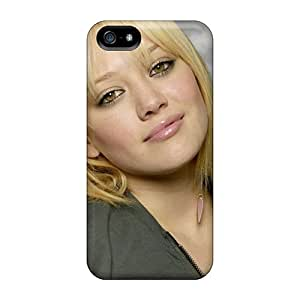 Fashionable QsgVt6189PTLYg Iphone 5/5s Case Cover For Hilary Duff Cute Face Protective Case
