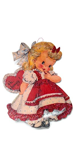 Stock Imagery (Valentine's Day Card Ornament Decoration Honey Girl Handmade Holiday Gift)