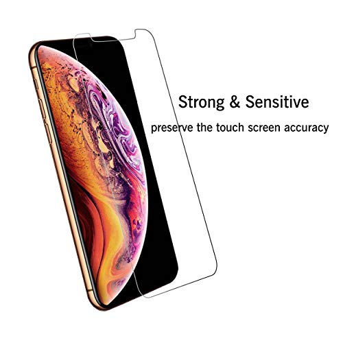 Ailun Screen Protector Compatible for iPhone 11 Pro Max/iPhone Xs Max 3 Pack 6.5 Inch 2019/2018 Release Case Friendly Tempered Glass