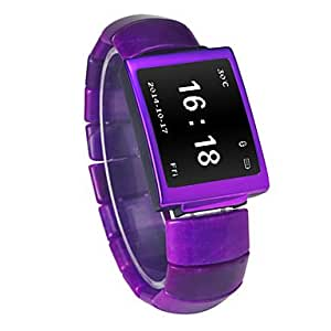 ZA Wearables Smart Watch , Hands-Free Calls/Media Control/Camera Control for Android &iOS(Delivery color random)