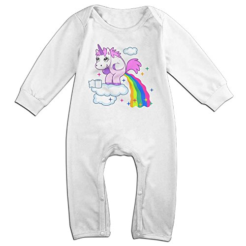 Unicorn Poop Rainbow Toddler Unisex Newborn Baby's Long Sleeve Romper Outfits Jumpsuit Bodysuit Clothes Ridiculous Baby Outfits