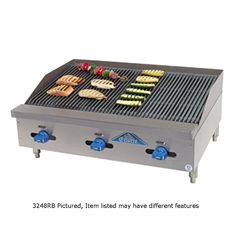 (Comstock Castle 3260RB Castle Series Countertop Gas Radiant Char Broiler)