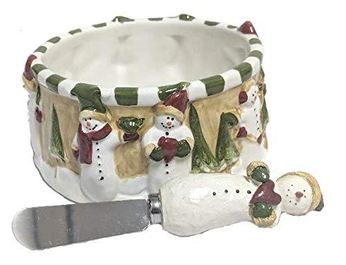 Snowman Dip Bowl Set -