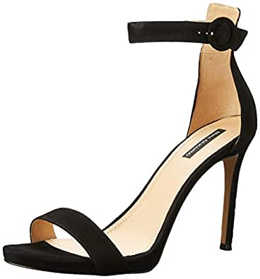 Nina Armando Women's Krissy Sandal, Black, 10 AU