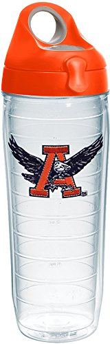 Tervis 1231917 Auburn Tigers College Vault Logo Insulated Tumbler with Emblem and Orange Lid, 24oz Water Bottle, (Auburn Tigers Insulated Bottle)