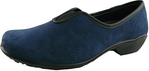 Romika - Arcardia - Damenhausschuh - blau Größe 40