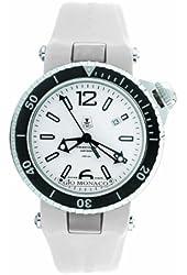 Gio Monaco Men's 788-P05 Poseidon Abissi Automatic White Luminous Rubber Watch