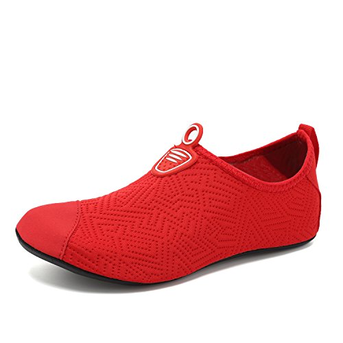 For Red Dry Water Quick Barefoot On Men Yoga Women Kids Sports Shoes Slip Socks Footwear Aqua VIFUUR qaXFdPxRwP