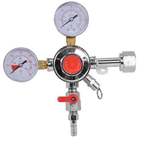 Brewin Dual Gauge Co2 Draft Beer Dispensing Regulator