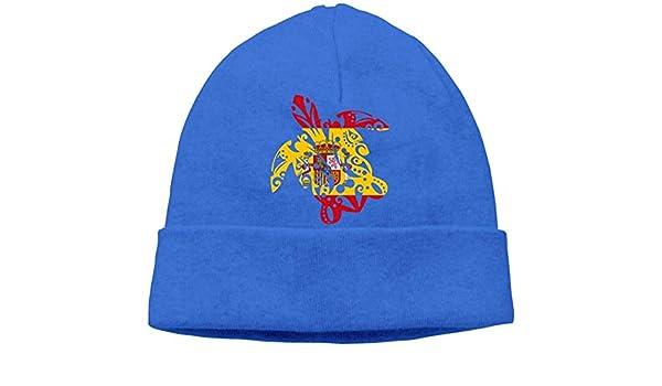 IMERIOi Hombres y Mujeres Ocean Blue Tribal Spain Flag Sombrero de ...