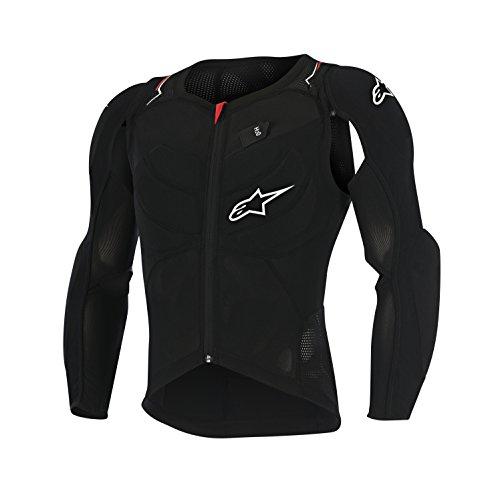 Alpinestars Men's Evolution Long Sleeve Jacket, Small, Black White Red