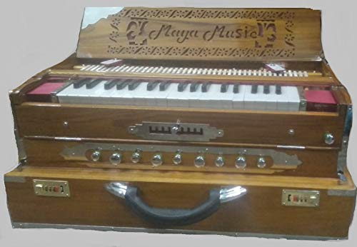 3.75 Octave 9 Scale Changer (with Coupler) Box Harmonium with 3 set of Reeds