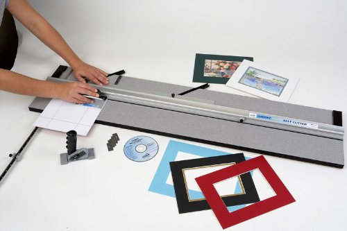 Logan Graphic Products Inc. 450-1 Artist Elite Mat Cutter for Framing, Art, and Design or Creative Signage Projects-best for At-Home Framers
