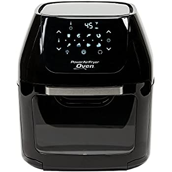 8 QT Family Sized Power Air Fryer Oven Plus- 7 in 1 Cooking Features with Professional Dehydrator and Rotisserie