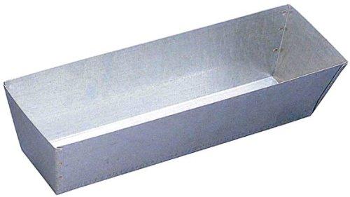 Walboard Tool 25-002GP-12 12'' galvanized Steel Mud Pan