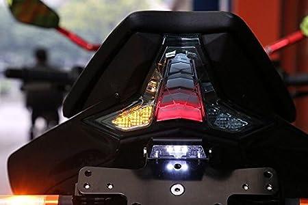 CFUSMOTO - Luz trasera LED para motocicleta Kawasaki Z1000 ...