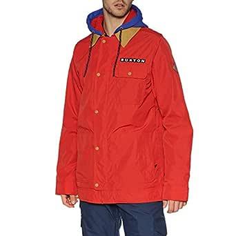 Burton Dunmore Snow Jacket Small Flame Scarlet