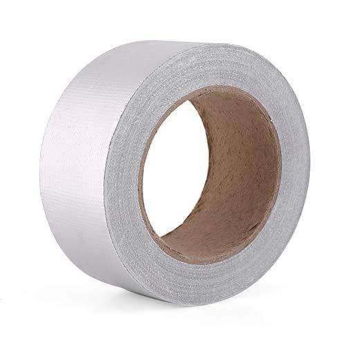 Daphot-Store - Car-Styling 1 Roll Auto Car Aluminum Foil Adhesive Reflective Heat Shield Resistant Wrap Tape 1.9