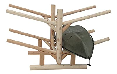 Log Kayak Rack 4-place
