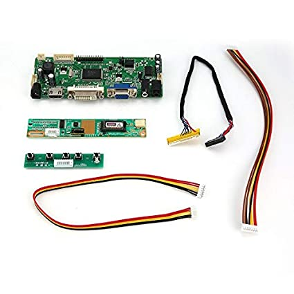 LCD//LED Screen Controller Board Diy Monitor Kit HDMI+DVI+VGA+Audio M.NT68676.2A