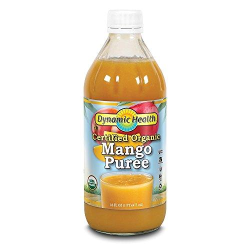 Dynamic Health Mango Puree - Dynamic Health Mango Puree -- 16 fl oz