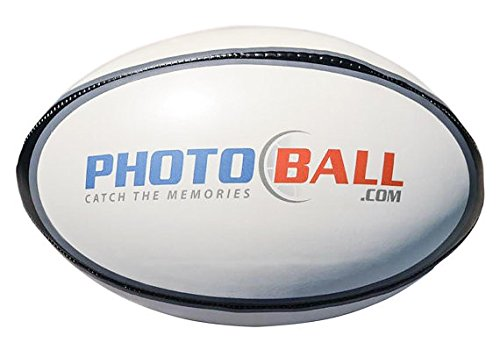 Custom Personalized Rugby Ball Ships in 1 Day, High Resolution Photos, Logos & Text on Rugby Balls for Players, Trophies, MVP Awards, Coaches, Personalized Gifts