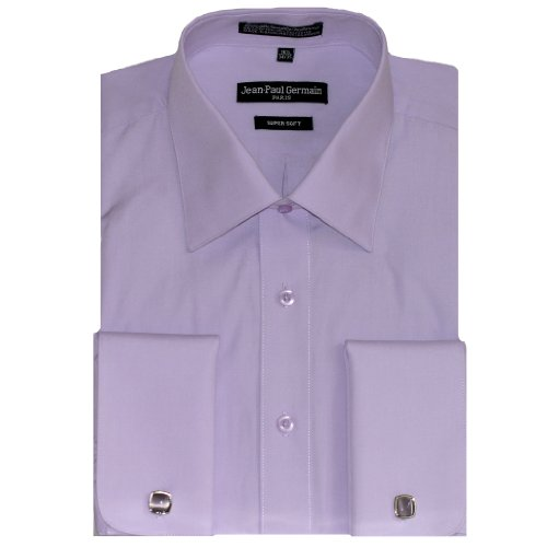 Lavender French Cuff Dress Shirt Cufflinks Included