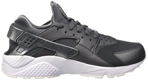 Nike Air Huarache Run Mens Sneakers 704830-200 Ematite Metallica / Ematite Metallica
