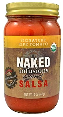 Naked Infusions Organic Gourmet Salsa Signature Ripe Tomato -- 16 oz from Naked Infusions