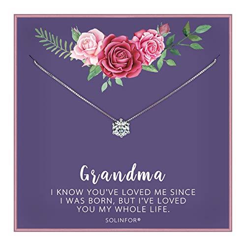 SOLINFOR Grandma Necklace -...
