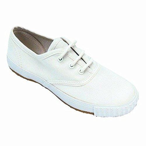Mirak - Zapatillas para mujer Blanco