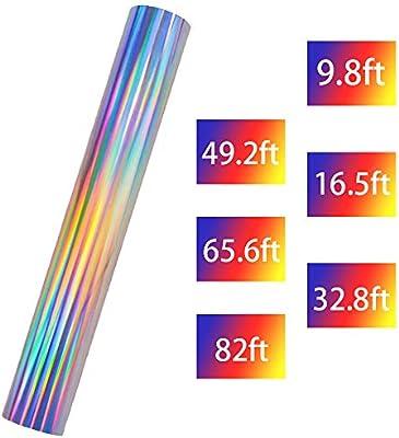 Rollos de vinilo para transferencia de calor, láser, arcoíris, HTV ...