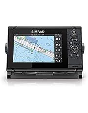 Simrad Cruise 7-7 inch GPS-kaartplotter met 83/200-transducer, vooraf geladen C-MAP US Kustkaarten, 000-14996-001
