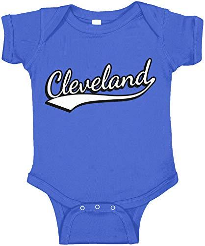 Amdesco Cleveland, Ohio Infant Bodysuit, Royal Blue 12 Month