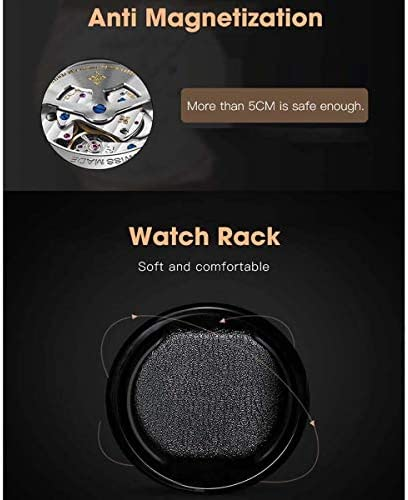 ワインディングマシーン watch winder 2個の時計ワインダー自動ウォッチワインダータッチスクリーンワインダーボックスウォッチ表示ワインダー自動ローテーション木製安全な木製収納ボックスウォッチ 時計 自動巻き ケース