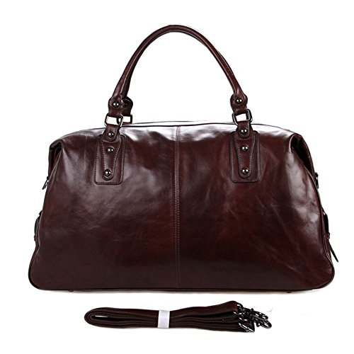 Yangjiaxuan Men's Business Travel Luggage Bags Sports Gym Travel Golf Holdall Luggage Duffle (Color : Brown)