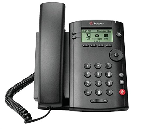 VVX 101 1-Line IP Phone PoE by Polycom