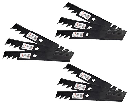 "Rotary (9) 12475 Mower Blades for AYP Husqvarna 532173921 532173-921 48"" Deck -  RTY-AYP-532173921-009"