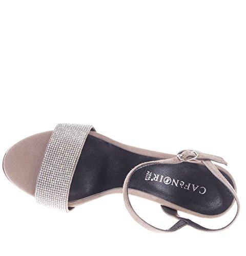 CAFèNOIR Cafè Noir NB525 Sandals Women 094 Beige zuw9Z