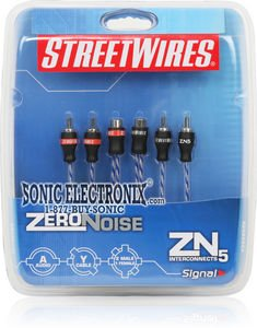 1-2 Meters Interconnect//RCA Cable StreetWires ZN3210 1-6 Ft.