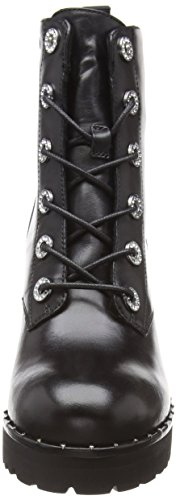 Femme Ankleboot 017 Madden Black Bottines Xina Noir Steve Leather FwUgqIaFH