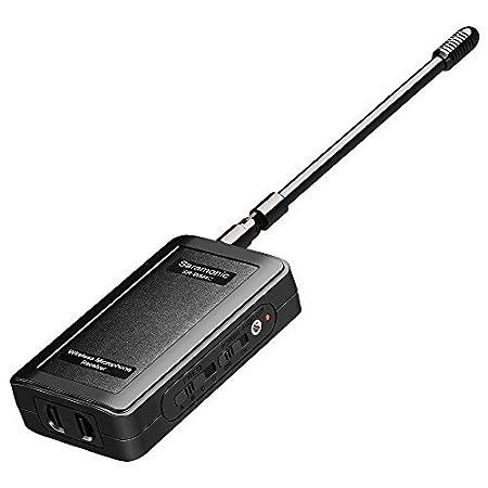 Syst/ème sans fil num/érique portatif professionnel de Saramonic VHF pour la collecte et le reportage de nouvelles