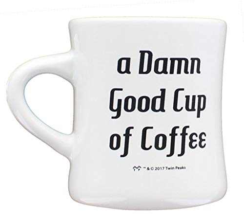 Twin Peaks Good Cup of Coffee 11oz Ceramic Mug